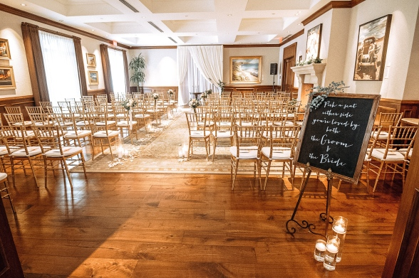 DIY Chalkboard Wedding Welcome Seating Chart Sign