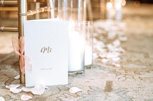 FREE DIY Wedding Programs Printable