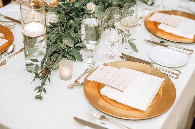 FREE DIY Wedding Menu Printable